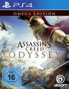 Assassin's Creed Odyssey Omega Edition (PS4 & Xbox One) für 39,99€ oder Gold Edition (PS4 & Xbox One) für 59,99€ (GameStop)