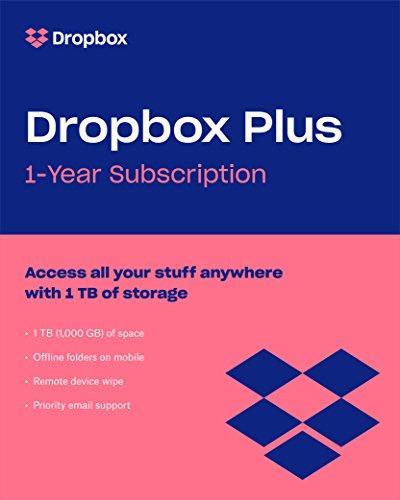 Dropbox Plus Jahresmitgliedschaft für 59€ anstatt 99€ - 1TB Speicherplatz / Offline Ordner