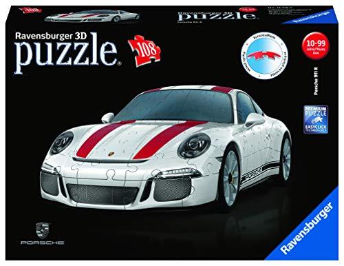 Ravensburger 3D-Puzzle zu günstigen Preisen, z.B. Porsche 911 R für 17,99 € / VW T1 - Food Truck für 14,99 € @ amazon prime