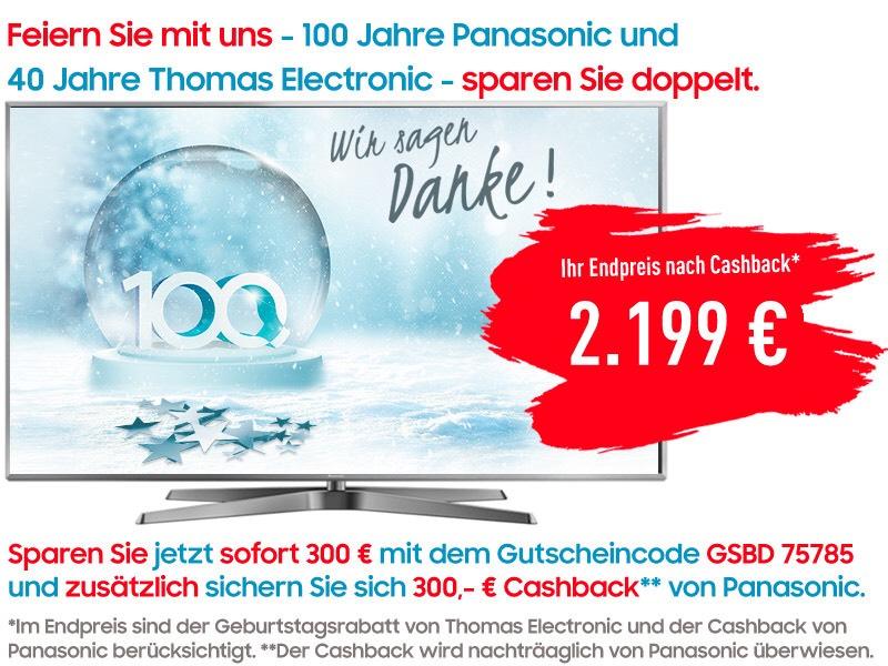 [Cashback & Gutschein] Panasonic TX-75FXW785 - 4K UHD TV