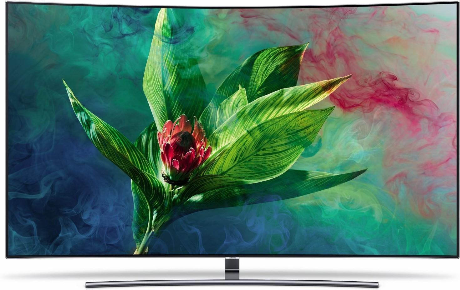 "Samsung 65"" QLED CURVED | GQ65Q8CN | 10 Bit | 100 Hz"