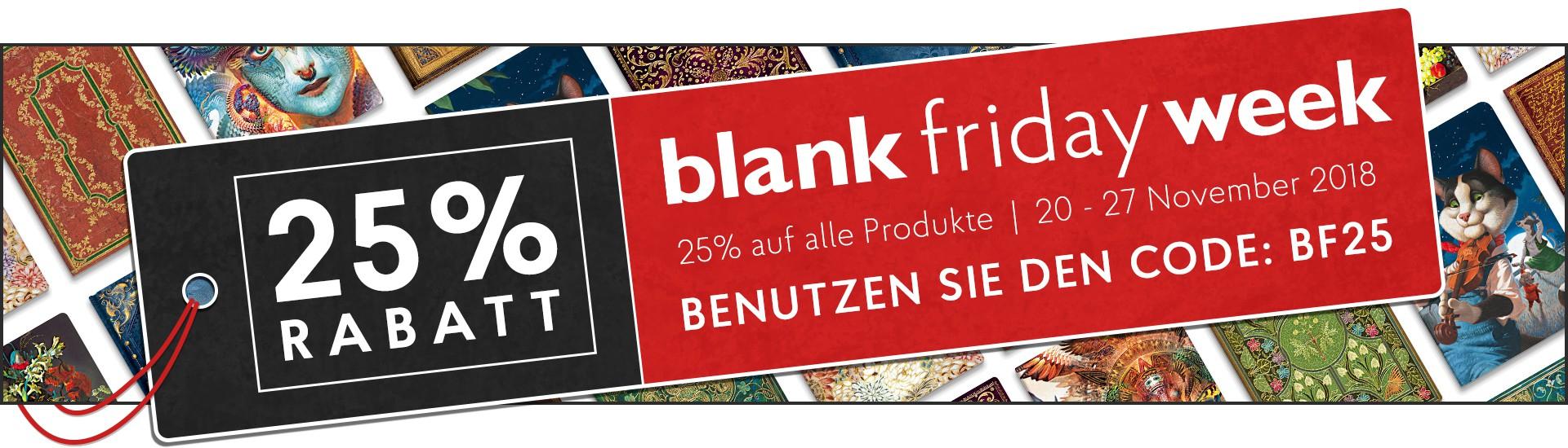 Paperblanks: Blank Friday Week, 25% auch auf Sale