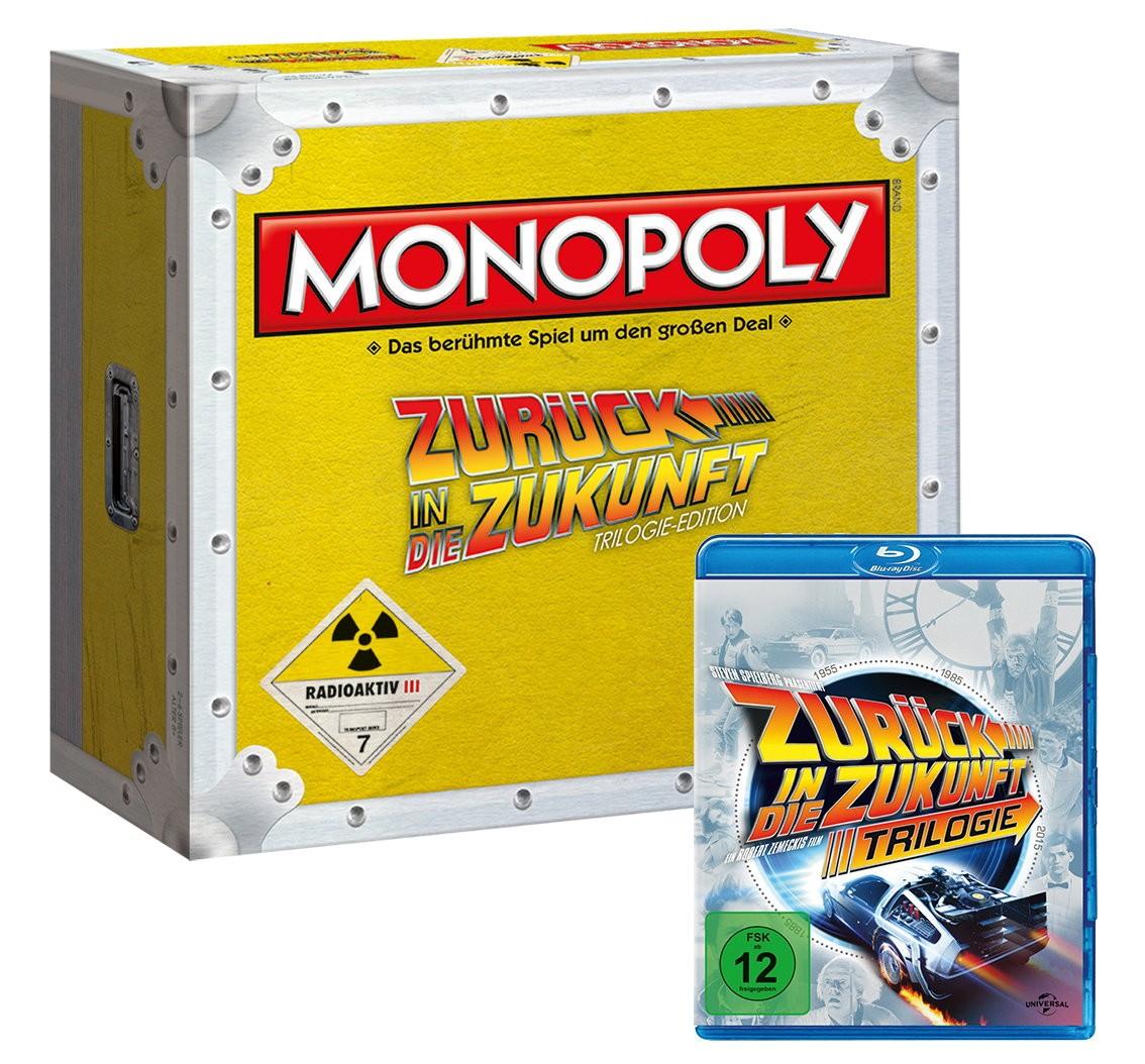 Monopoly Zurück in die Zukunft Collector's Edition + Trilogie (Blu-ray) bei Real.de