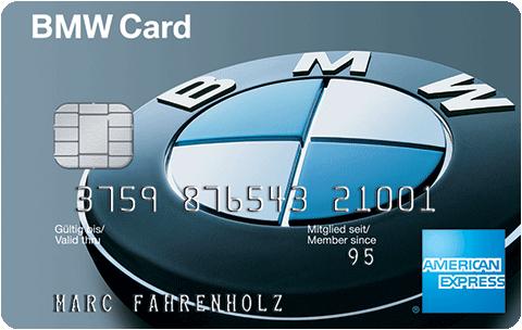 1% Cashback auf Tankstellenumsätze, kostenlose AKV und 20 € Startguthaben mit der American Express BMW Card (auch für nicht BMW-Fahrer)