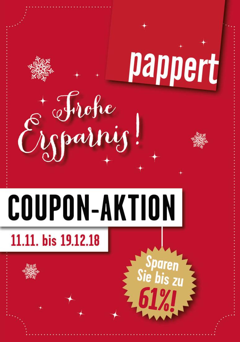 [Regional] Papperts Bäckerei - Winterliche Coupon-Aktion