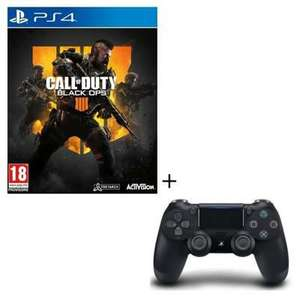PS4 Controller + Spiele Pack Auswahl - z.B DualShock 4 (V2) + Call of Duty Black Ops 4 (Cdiscount)