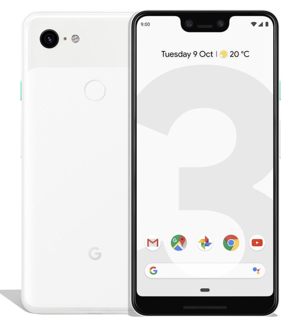 Google Pixel 3 XL 64 GB (alle Farben) für 799 plus vsk, 128 GB für 899 plus vsk