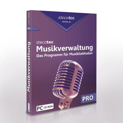 5€ Gutschein für Stecotec Musikverwaltung Pro - Software für CDs- und Schallplatten