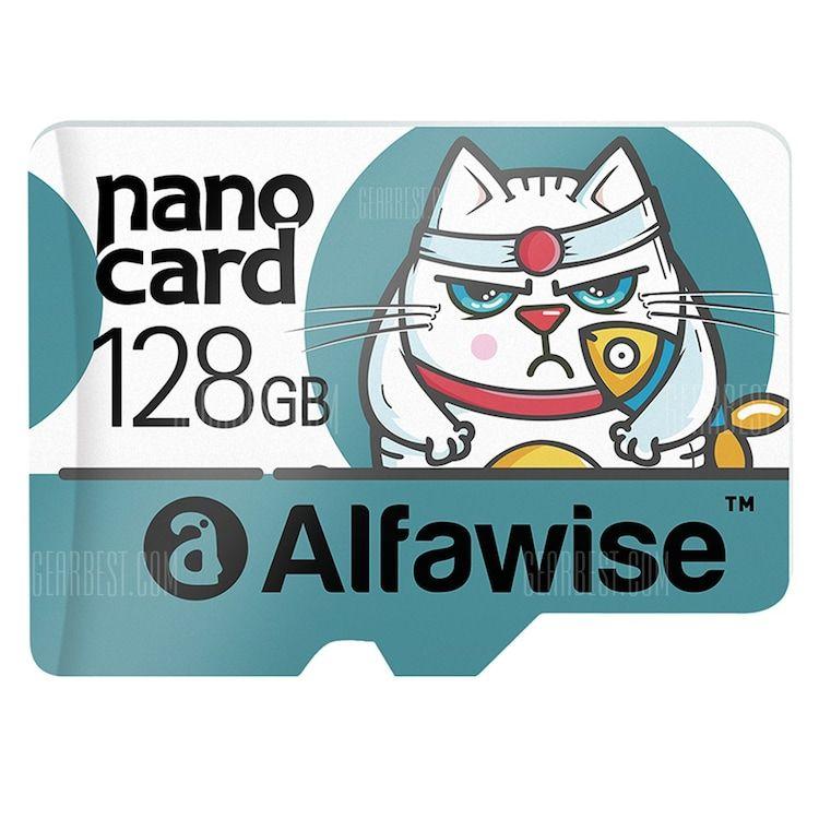 Alfawise 128GB MicroSDXC UHS-1 80MB/s   Mit GB Punkten für 13,34€!