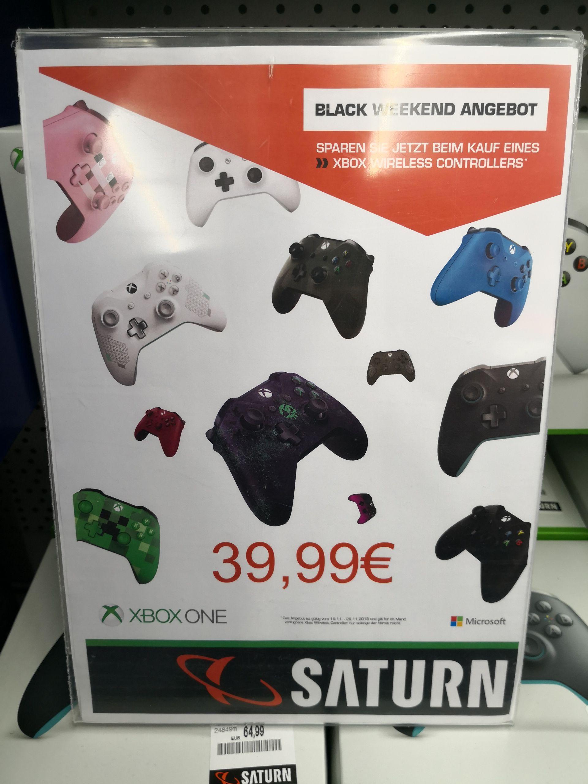 (Saturn Stuttgart Schlossplatz - bundesweit?) Xbox One Controller