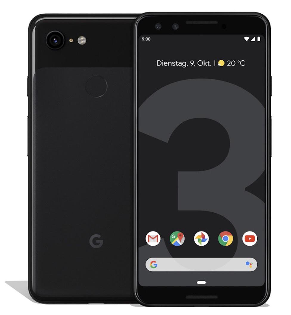 Google Pixel 3 64 GB (gratis: UE Blast Blue Lautsprecher)