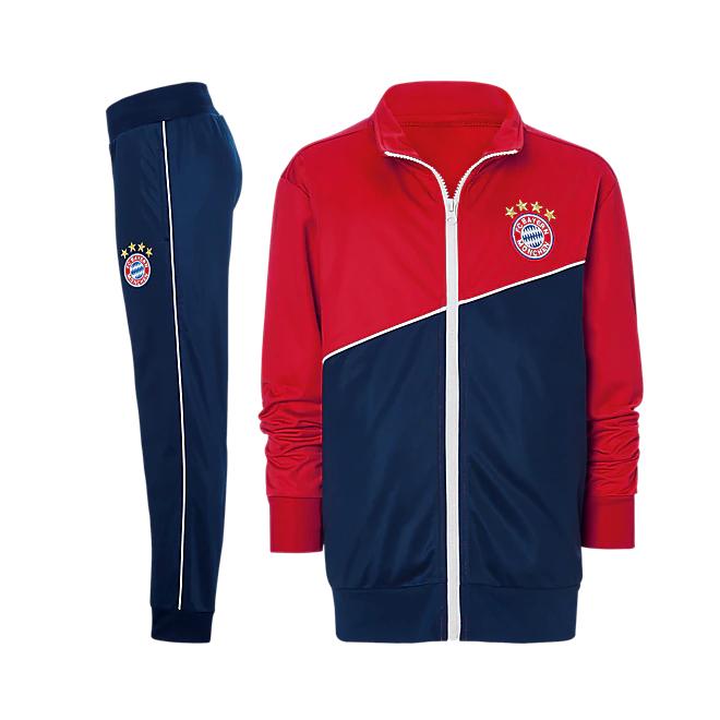 FC Bayern München Trainingsanzug für Kids & Erwachsene @FCB Fanshop am BF2018