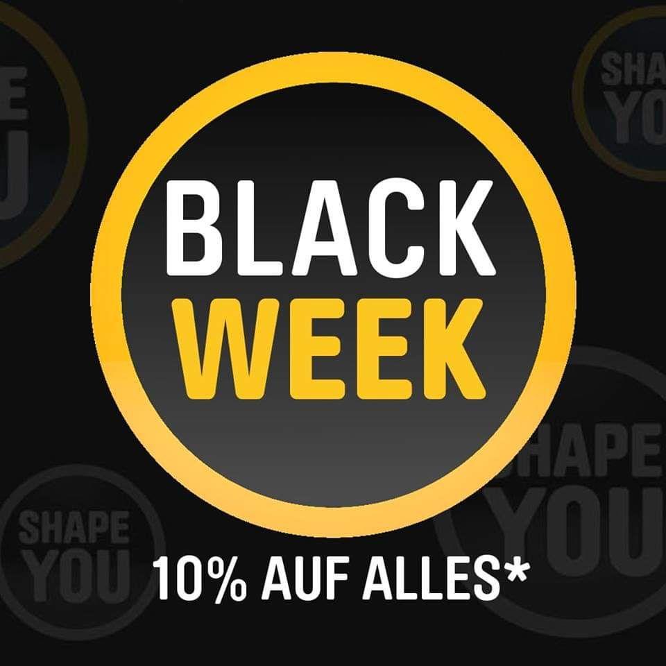 10% ShapeYOU BLACKWEEKGutschein