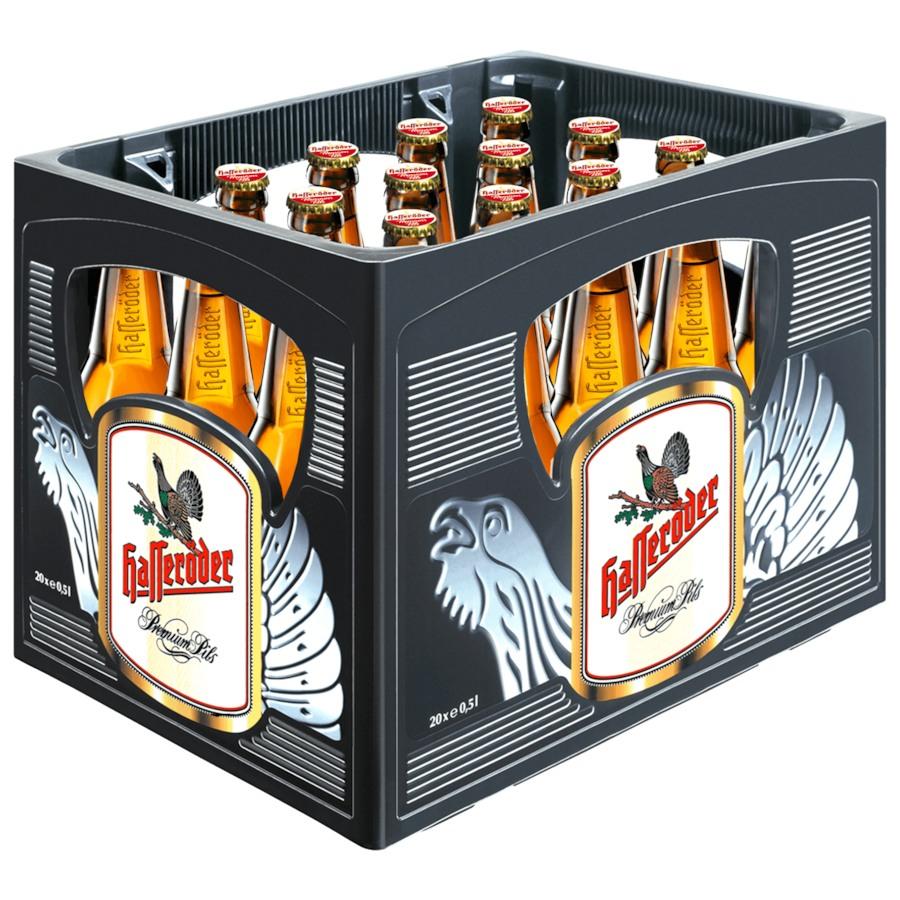 (Rewe) (Bier) Hasseröder Premium Pils 20x0,5l