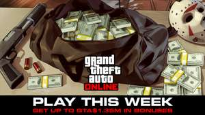 Bis zu 1,35 Millionen in GTA Online