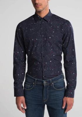 50% Rabatt auf die Black Sale-Kollektion, Hemden 29,95€, Blusen 39,95€ - versandkostenfrei, z.B. Langarmhemd, Slim fit, Popeline, marineblau