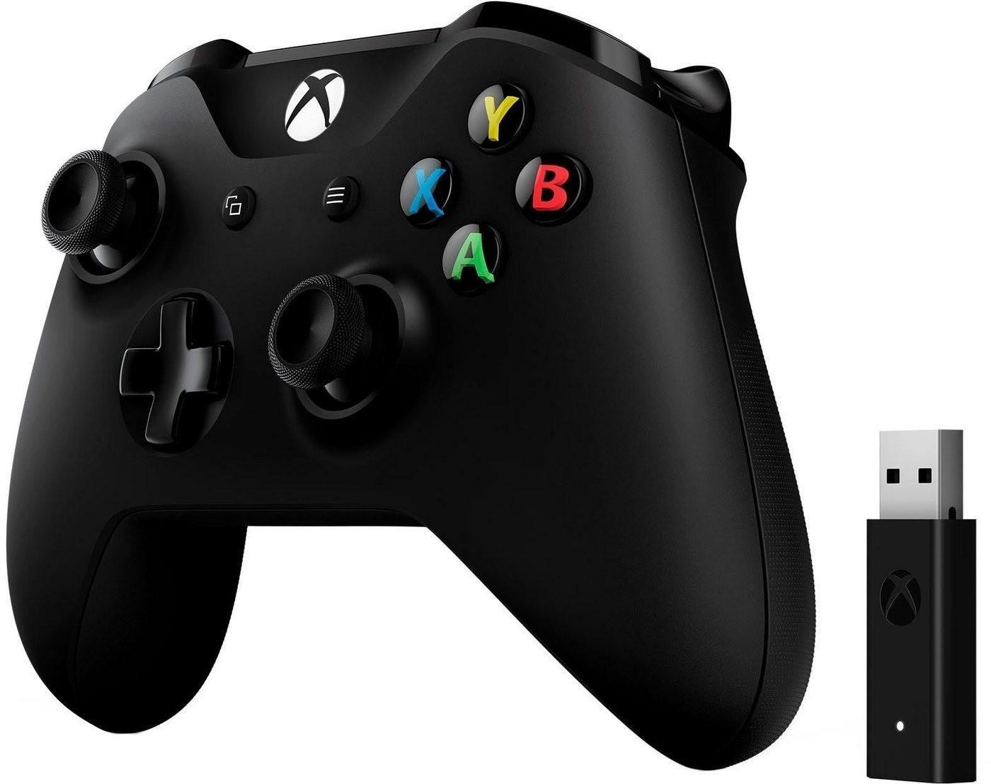 Microsoft Xbox Controller und Wireless Adapter für Windows für 33,99€ inkl. Versandkosten