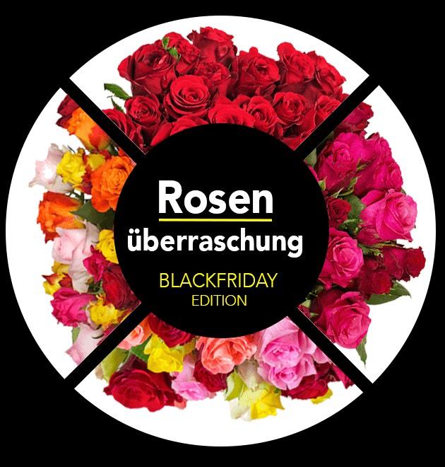 44 Fairtrade-Rosen (Black Friday Edition) + SHOOP