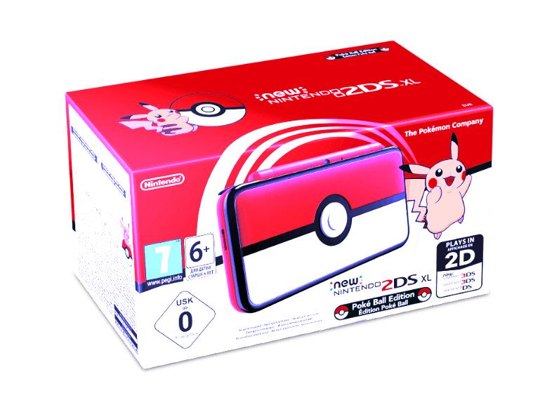 [Mediamarkt] NINTENDO New Nintendo 2DS XL Limited Pokéball Edition für 119,-€