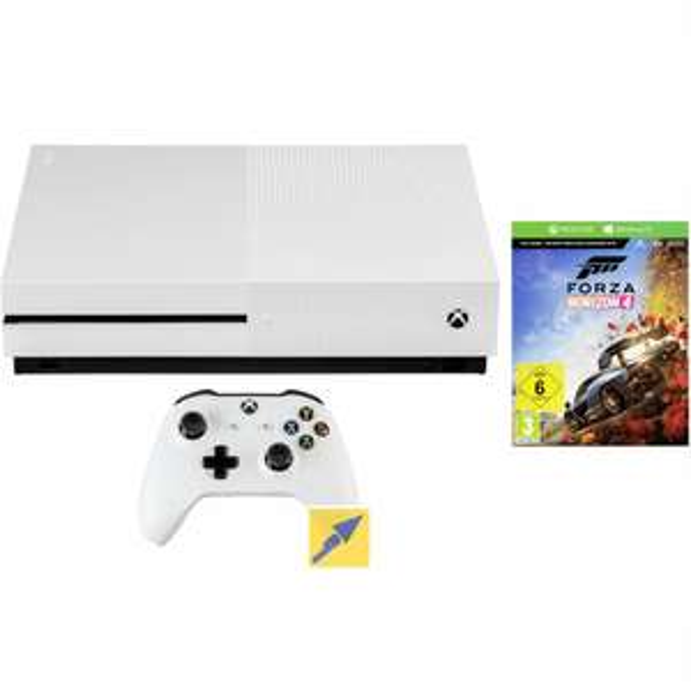 Microsoft Xbox One S - 1 TB mit Controller und Forza Horizon 4 + 2. Controller