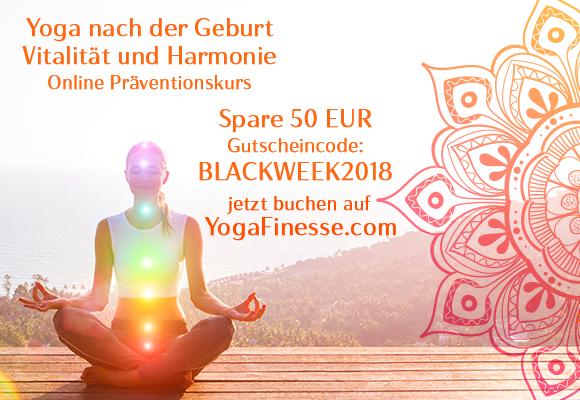Yoga nach der Schwangerschaft online - mit viele Krankenkassen (AOK, BKK) gratis