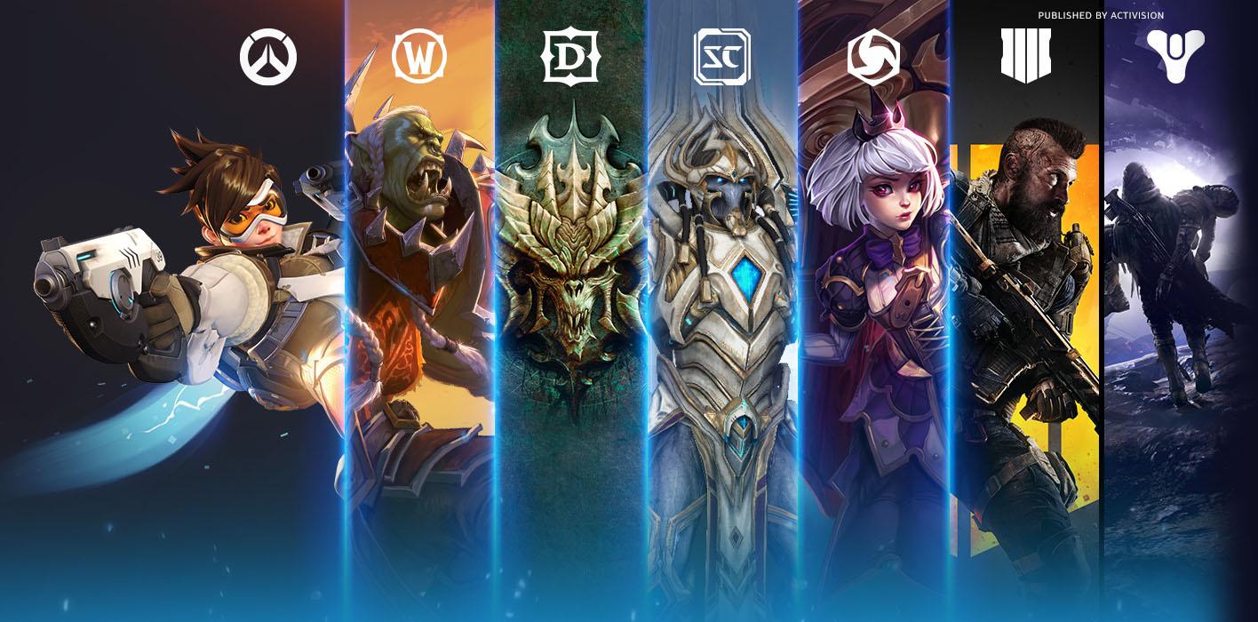 Battlenet Black Friday Deals bis 26. Nov im Blizzard Store