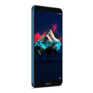 MediaMarkt Honor 7X Smartphone (15,06 cm (5,93 Zoll) Display, 64 GB interner Speicher, Android 7.0) Sapphire Blue
