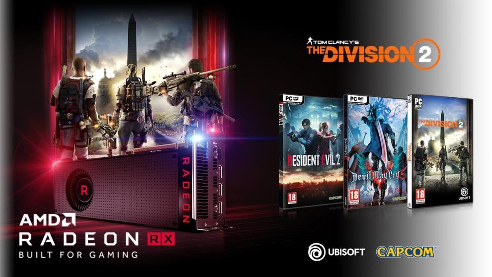 AMD Radeon Spielebundle: Gratis 2-3 Games zur RX 570/580/590, Vega