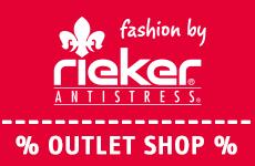 50% Rabatt im Rieker Outlet Store vom 21.11 bis 25.11