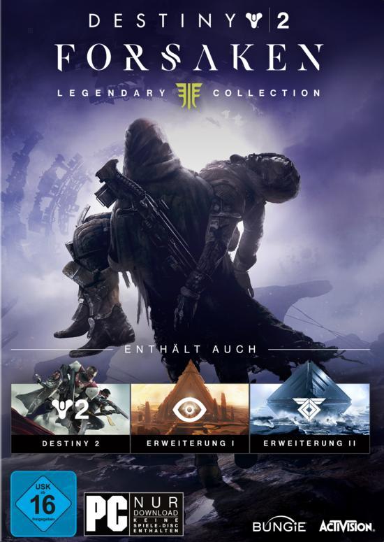 Destiny 2: Forsaken - Legendary Collection (PC) für 22,99€ (GameStop & Amazon Prime)