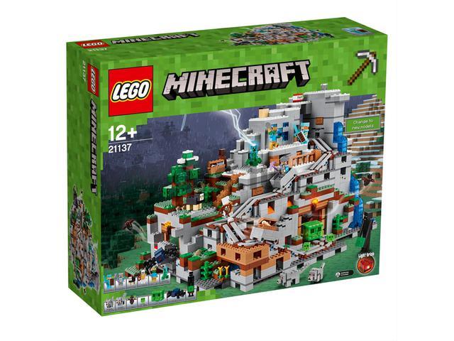 """LEGO Minecraft Die Berghöhle 21137 - """"Überteuerter Bestpreis"""""""