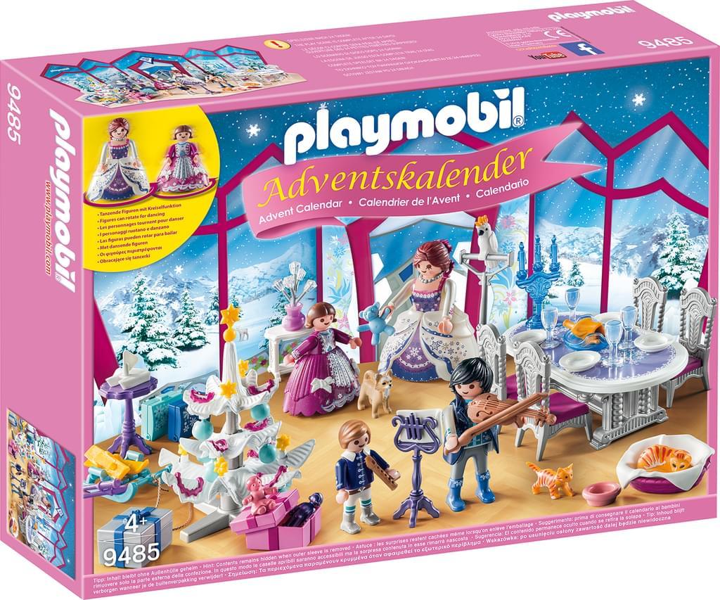 Playmobil Adventskalender 'Weihnachtsball im Kristallsaal' 9485 versandkostenfrei