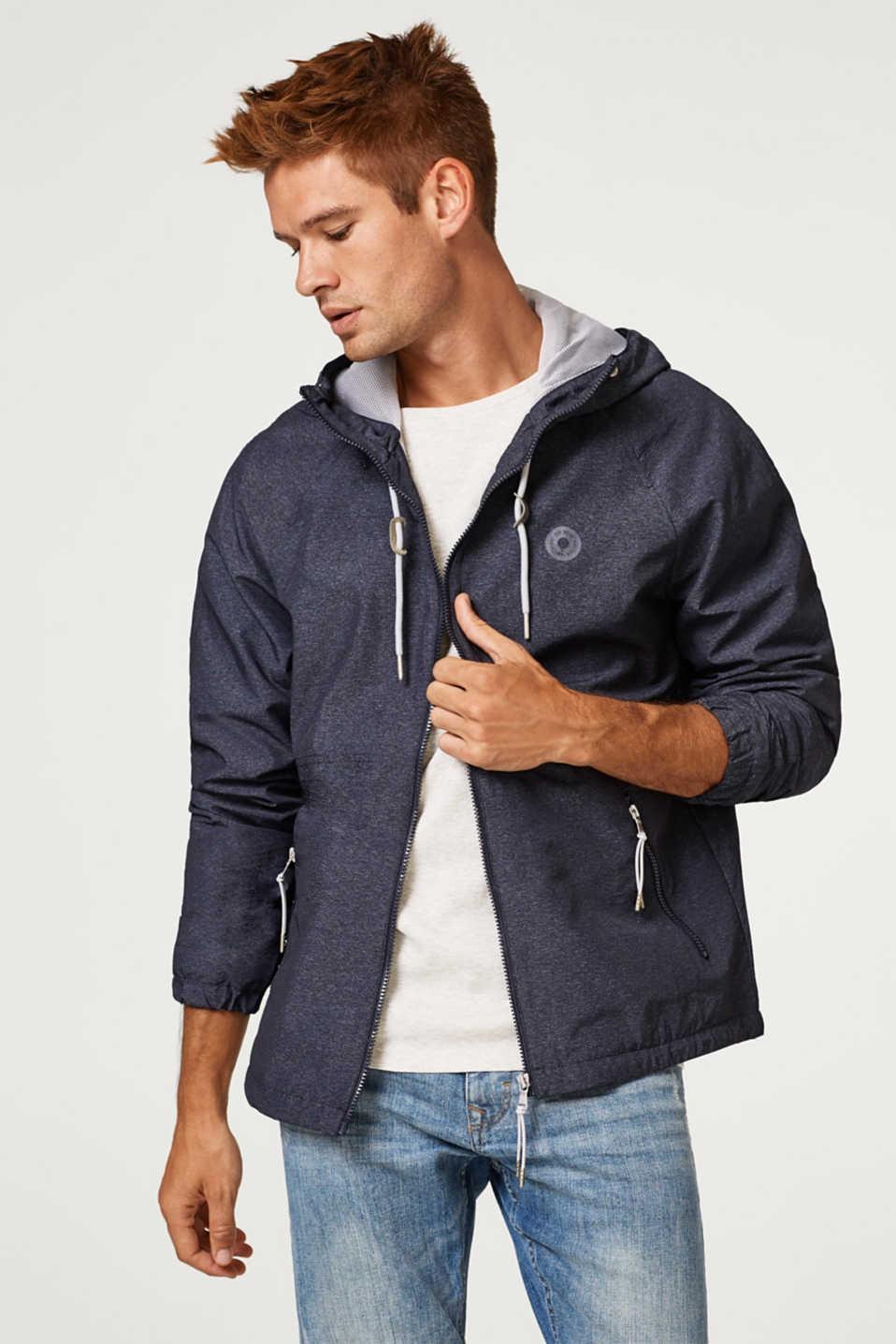 [ESPRIT] Regenjacke für Herren in blau und grau verfügbar, NL Ameldung 10%= 26,99€, Größen XS bis XL, VSK, 0,99€