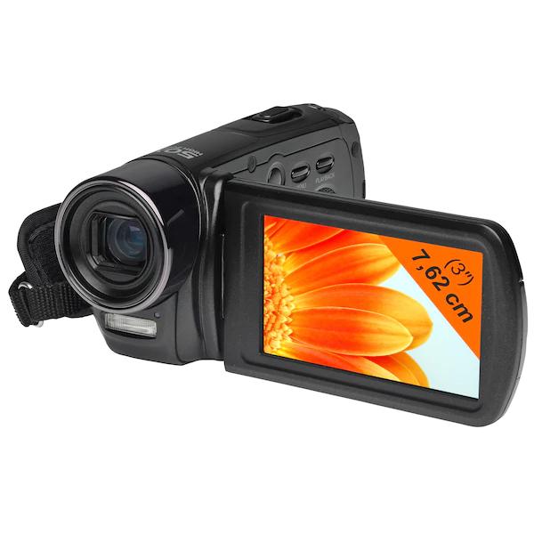 "[Medion] MEDION LIFE X47030 Digitaler Full HD Camcorder, 7,62 cm (3"") Display, 5.0 Megapixel, 10-fach digitaler Zoom, 5-fach optischer Zoom"