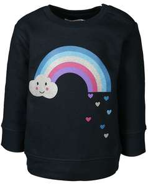 Zoolaboo Sweatshirts in den Black Shopping Days bei [tausendkind] z.B. Regenbogen-Sweatshirt inkl. Versand