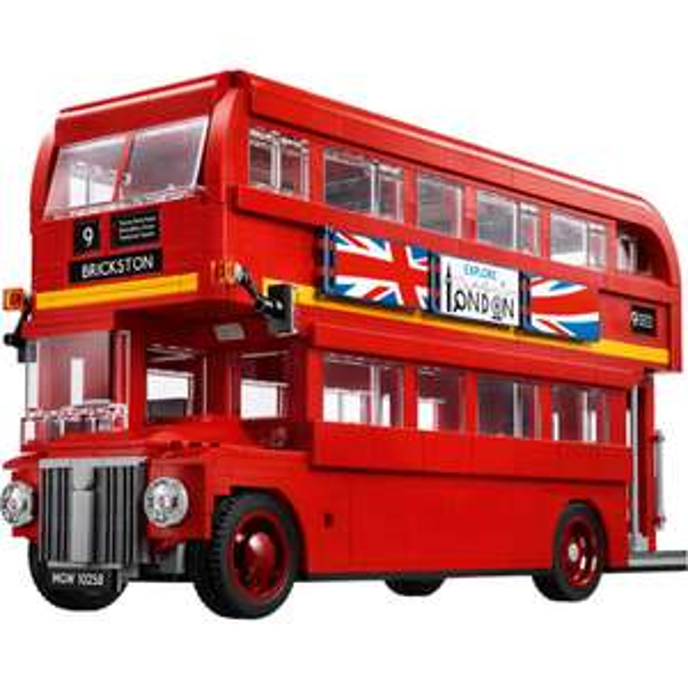 LEGO Creator 10258 Londoner Bus, Konstruktionsspielzeug effektiv 73,15