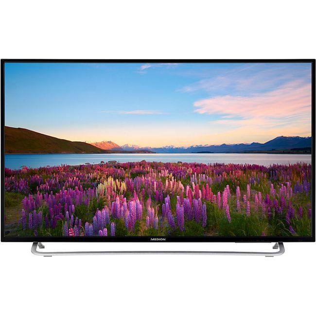 "LED-Backlight, Full HD,MEDION LIFE P18106 Fernseher, 123,2 cm (49"")  HD Triple Tuner, Mediaplayer, CI+ Modul, inkl. Wandhalterung [Plus.de]"