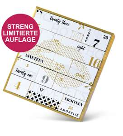 Amorelie Adventskalender Premium 20 € Rabatt
