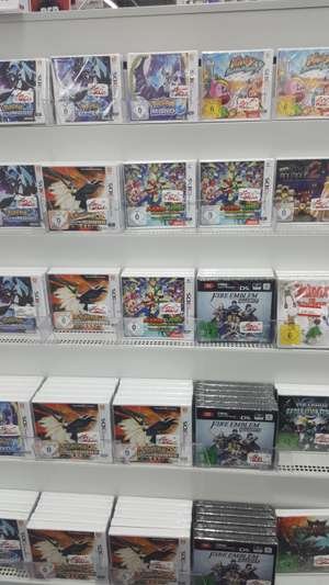 (Lokal) MM Bielefeld Nintendo 3DS: Pokemon Ultrasonne/ Ultramond, Mario & Luigi Superstar Saga