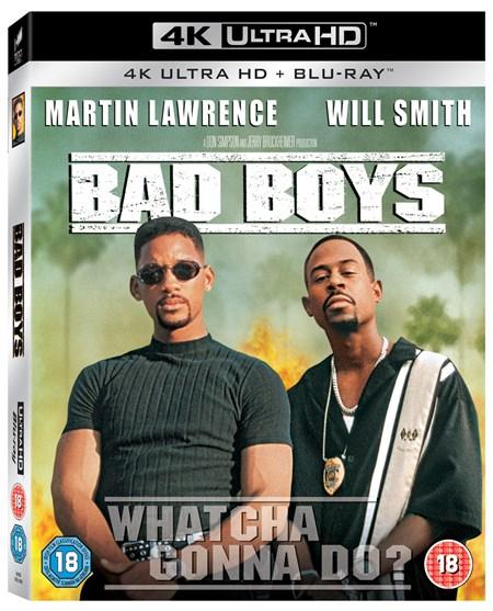 Bad Boys 1 & 2 (4K Blu-ray + Blu-ray) für je 14,13€ (Zoom.co.uk)