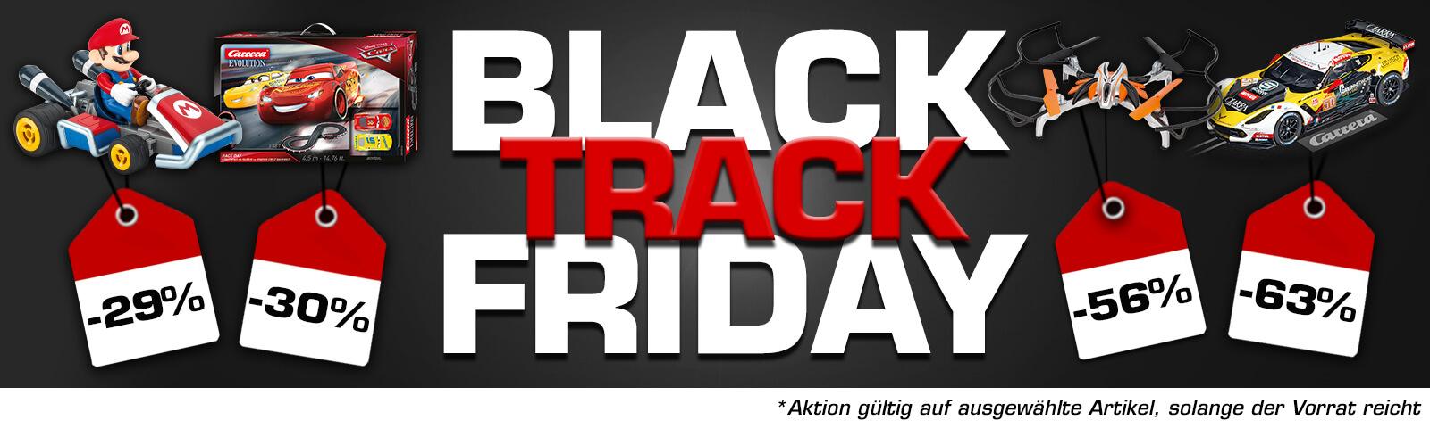 Bis zu -70% im Carrera Online-Shop vom 23.11. - 26.11.
