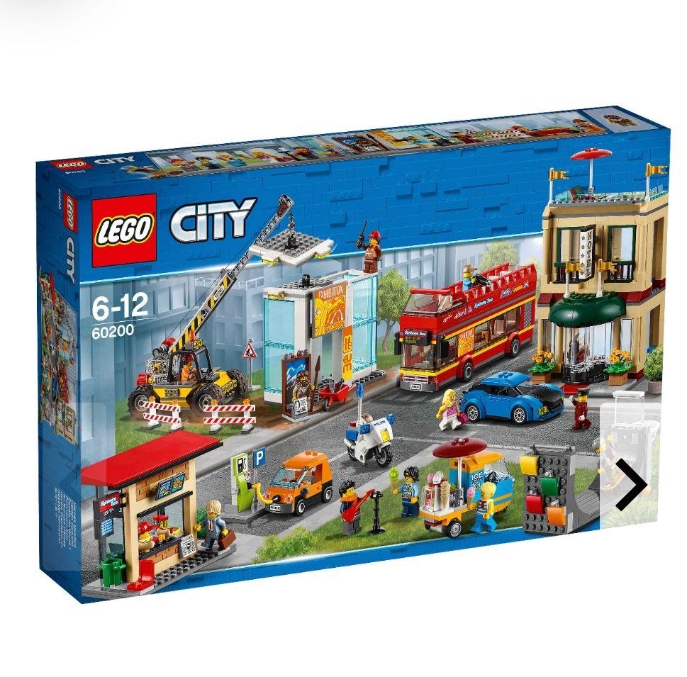 (Galeria Kaufhof) 20% auf Lego + 10€ Newsletter Gutschein (+ 10% Shoop möglich), z.B. Lego City Hauptstadt 60200 für 93,99€