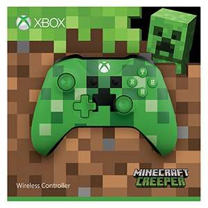 xbox one s wireless controller minecraft green limited edition schwarz gears of war 4. Black Bedroom Furniture Sets. Home Design Ideas