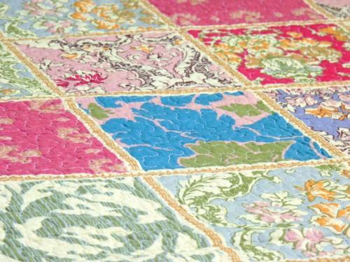 Schöne Patchworkdecke Quilt verschiedene Designs 230 x 250cm