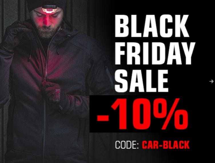 Carinthia -  10% auf das gesamte Sortiment am Black Friday