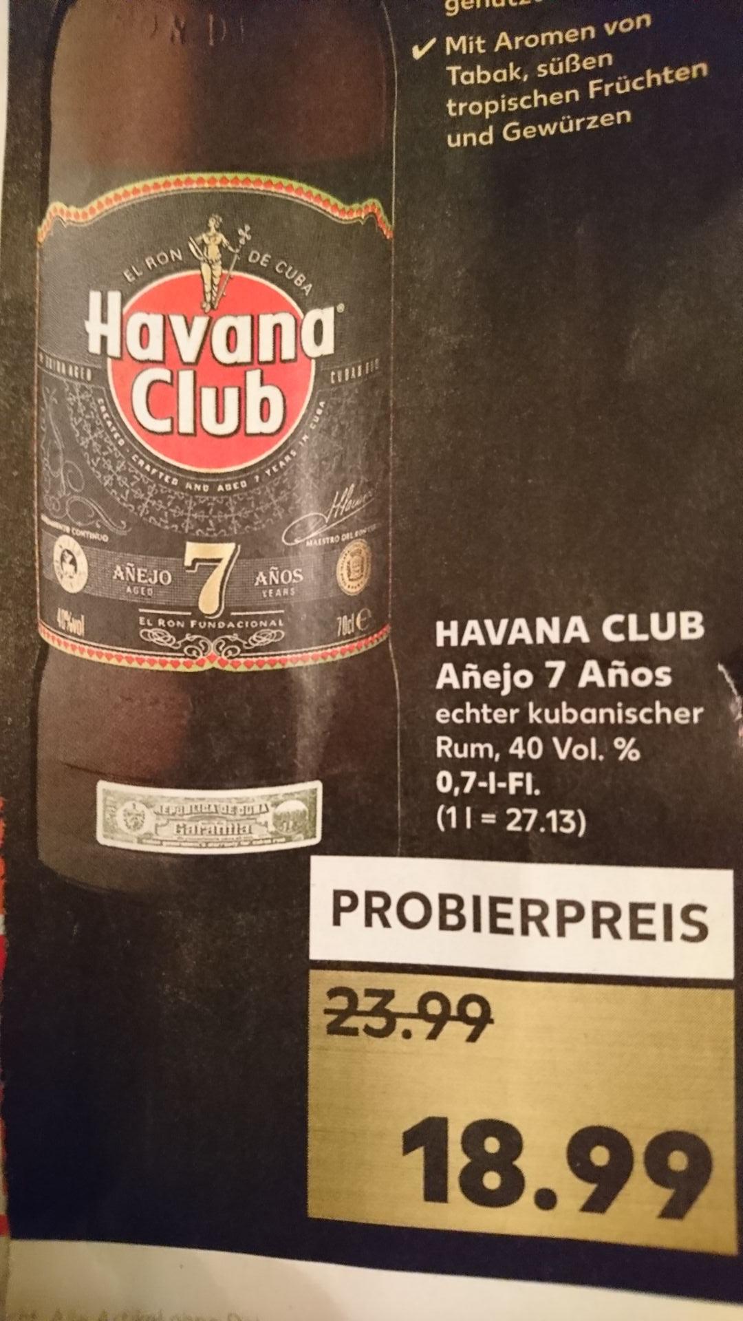 Havana Club Añejo 7 Años Rum 0,7l [Kaufland]
