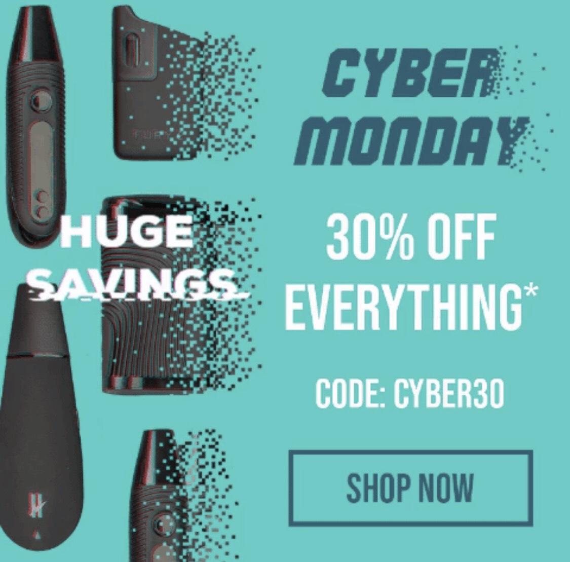 Cyber Monday bei Namastevapes. Mighty von Storz & Bickel reduziert! + Gratis Grinder