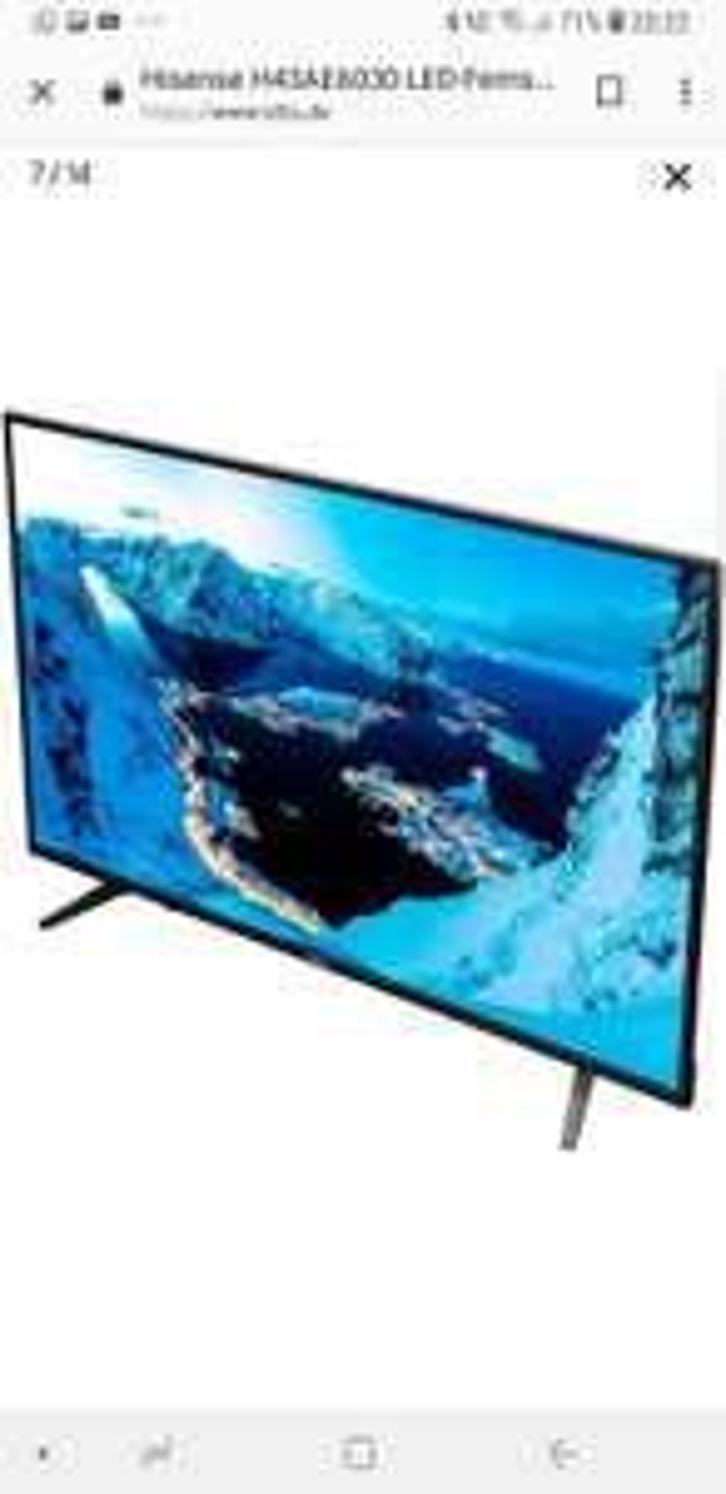 Hisense H43AE6030. 43 Zoll UHD 4K Fernseher bei Otto.