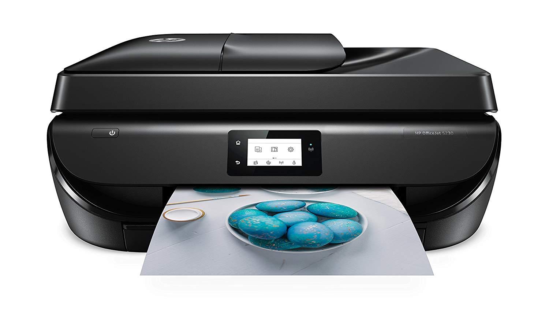 [Amazon.it] HP OfficeJet 5230 Multifunktionsdrucker (Instant Ink, Drucker, Kopierer, Scanner, Fax, WLAN, Airprint)