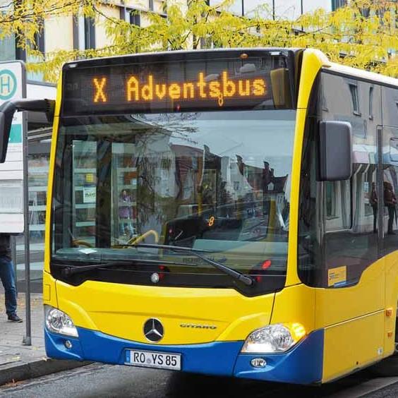 [Rosenheim & Umland] An allen 4 Adventssamstagen Stadtbusse kostenfrei